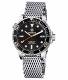 MASTER 1000 AUTOMATIC DIVER BLACK BEZEL -BLACK DIAL- ORANGE SECOND HAND_