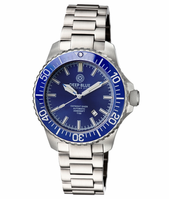 DAYNIGHT DIVER T-100 AUTOMATIC – SS BLUE DIVER