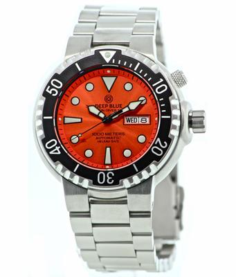 Sun Diver 2 1k Orange Sunray Dial